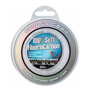 Savage Gear Soft Fluoro Carbon 0.49mm 35m 15.2kg 33.5lb