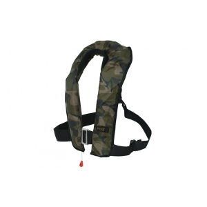 Fox International Nafukovací vesta Camo Life Jacket