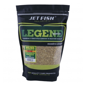 Jet Fish PVA mix Legend Range 1kg Bioliver ananas/N-Butyric acid