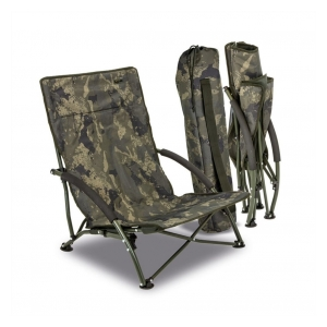 Solar Křeslo Undercover Camo Foldable Easy Chair Low