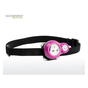 Silverpoint Outdoor Svítilna klip Dragonfly Led - pink 3LED up to 18 lumens