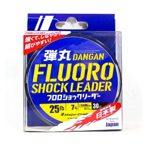 Major Craft Dangan Fluoro Shockleader 0.522 mm 18.8kg 30 m